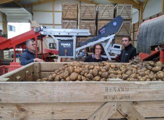 La ferme de Tremonvillers, dans l'Oise, s'équipe d'une machine de tri pour ses récoltes de pommes de terre et betteraves rouges