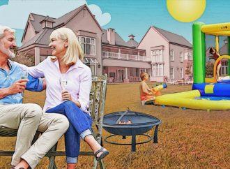 Des châteaux gonflables aux braseros: 7 conseils pour aménager un espace de jardin qui convienne aux petits comme aux grands